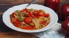 cabbage, peppers or pot meal / kapust, papryka czyli danie jednogarnkowe