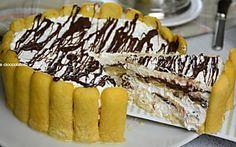 Torta fredda nutella e pavesini senza cotture e facile da fare