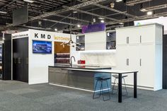 KMD Kitchens at the Auckland Home show Septembeer 2019 Auckland, Kitchen Island, Kitchens, Home Decor, Island Kitchen, Decoration Home, Room Decor, Kitchen, Cuisine