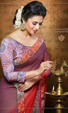 Indian Tv Actress, Indian Bollywood Actress, Beautiful Bollywood Actress, Most Beautiful Indian Actress, Indian Actresses, Beautiful Blonde Girl, Beautiful Asian Girls, Most Beautiful Women, Beautiful Saree