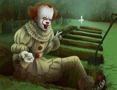 shigeru onda et audrey saint-yves sont des crapauds Joker Clown, Le Clown, Pennywise The Dancing Clown, Saint Yves, Arte Horror, Horror Art, Clown Horror, Horror Monsters, Scary Movies