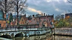 City of Brugge Belgium Desktop Photos, Wallpaper Pc, Hdr, Free Pictures, Belgium, Madrid, Cool Photos, Mansions, Country
