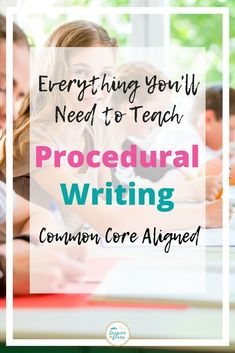 This Procedural Writing resource has everything you'll need; from anchor chart ideas and graphic organizers to planning templates and rubrics. It includes a choice of 2 hands - on craft activities for your elementary and middle school students to complete