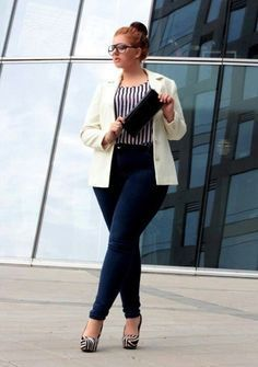 Plus Size  Fashion: High Class Office Styles