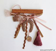 JasmineART eshop Γούρι Κανέλα πέταλο 18 Tassel Necklace, Tassels, Jewelry, Jewlery, Bijoux, Schmuck, Tassel, Jewerly, Jewels