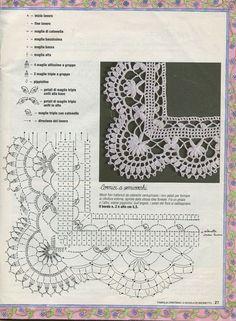 Best crochet edging patterns for hats ideas Crochet Border Patterns, Crochet Lace Edging, Crochet Chart, Thread Crochet, Crochet Trim, Filet Crochet, Irish Crochet, Crochet Doilies, Crochet Flowers