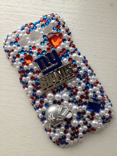 NY Giants Bling Case by IJadoreBling on Etsy