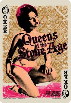 We were at this gig and got this and the Dublin poster too. QOTSA - Chris Hopewell