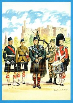 QUEENS OWN HIGHLANDERS (SEAFORTH & CAMERONS) Best Of Scotland, Scotland Uk, Military Art, Military History, Military Uniforms, British Soldier, British Army, Commonwealth, Scottish People