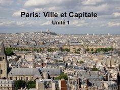 Paris: Ville et Capi