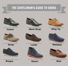 The Gentleman's Guide to Shoes Via