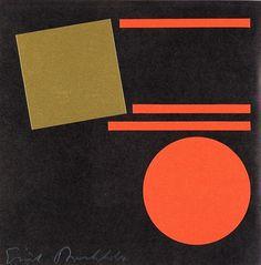 ein-bleistift-und-radiergummi:Erich Buchholz - Dokumentation b-3. Berlin, situationen 60 galerie (portfolio w/1 work and several other objects) , 1965.