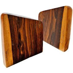 1stdibs.com | Cocobolo Bookends by Don Shoemaker