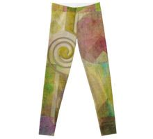 SIMPLICITY - Leggings  Digital Abstract Geometric Art by mimulux patricia no