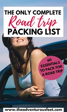 Going on a road trip? Here is the complete road trip packing list with everything you'll need| Packing list for a road trip| road trip essentials to pack|things to bring on a road trip|road trip checklist |what to pack for a road trip|essentials for a road trip |road trip packing list| things to pack for a road trip| what to take on a road trip |rv road trip packing list |essentials to pack for a road trip |long road trip essentials#packinglistforroadtrips #packinglistroadtrip… Road Trip Checklist, Road Trip Packing List, Road Trip Essentials, Travel Packing, Road Trips, Packing Lists, Family Vacation Destinations, Family Vacations, Cruise Vacation