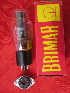 1x tube 5U4G BRIMAR RECTIFIER NIB CODE FCO 5U4 G 5 U 4 ~ U52 274B WE 274 B 300B  #BRIMAR