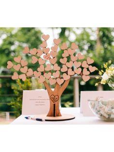 Guest book - Baum des Lebens (für zB. Hochzeiten, Feiern,...)