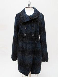 Azura Boutique - Le Phare De La Baleine Dark Blue Coat, $328.00 (http://www.shopazura.com/la-phare-de-la-baleine-dark-blue-coat/)
