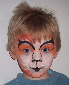 cute cat face paint | www.paintingparties.co.uk | cheryl vacher | Flickr