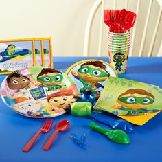 Super Why! Party