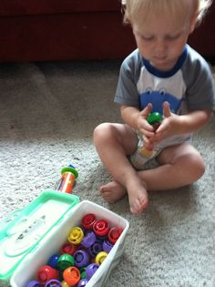 The Activity Mom: Learning with Your 18 Month Old