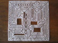 Milanese bobbin lace sampler | Flickr - Photo Sharing!