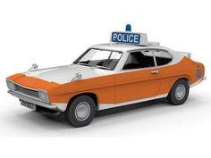 Corgi Vanguards 1:43 Scale Ford Capri MkI 3000GT, Lancashire County Constabulary
