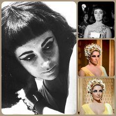 Elizabeth Taylor Cleopatra, Taylors, Egypt, Beautiful People, Crown, Jewelry, Corona, Jewlery, Jewerly