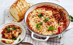 Lamb, risoni and tomato braise