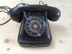 Danish Vintage Phone - Kristian Kirks Telefonfabrikkerne A/S from midcentury