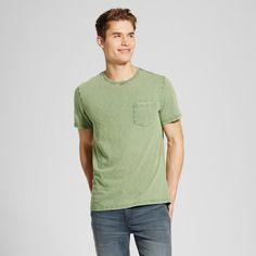 Men's Crew Neck T-Shirt Green XL - Mossimo Supply Co.