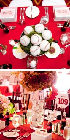 Sophisticated Baseball Theme — Celebrations at Home
