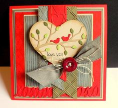 Love Birds by DJRants - Cards and Paper Crafts at Splitcoaststampers