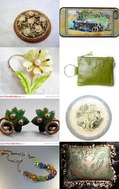 Green grass *voguet by Anat on Etsy--Pinned with TreasuryPin.com