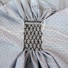 Smocking tutorial - planning to use smock on my new 12th century undergown