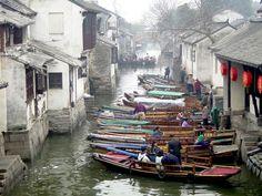 Water Town, Zhouzhuang Near Shanghai