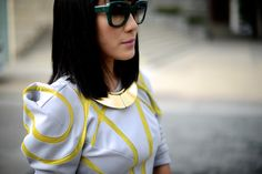 I've worn this Lanvin necklace countless time with everything.   Here is the link to find it http://rstyle.me/n/3zqad7de