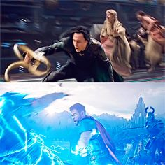 we thought if Thor is thunder and power and muscle and brawn and he's got his hammer, Loki should be like…he should be so quick he's like the wind. So if Thor is heavy, Loki is light. Loki Thor, Loki Laufeyson, Tom Hiddleston Loki, Marvel Dc Comics, Marvel Avengers, Asgard, Marvel Memes, Marvel Cinematic Universe, Holland