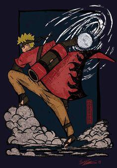 The unic art of Uzumaki Naruto. Anime Naruto, Kurama Naruto, Uzumaki Boruto, Naruto Shippuden Anime, Madara Uchiha, Gaara, Kakashi, Manga Anime, Naruhina