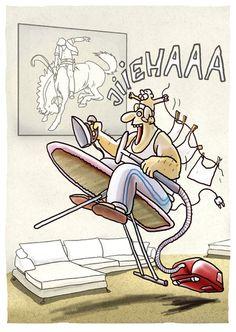"""Hausmann"" by Markus Grolik #cartoon #funny"