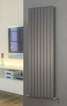 AGADON P1 Anthracite Flat Panel Designer Radiator 1800 x 445: Amazon.co.uk: Kitchen & Home