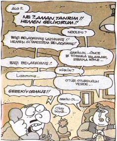 Sakin ol yalanları toparla :) Karikatür
