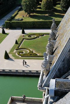 From the cupola of Vaux le Vicomte