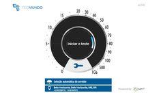 Como está sua internet? Faça um teste de velocidade.