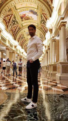 Sometimes you just travel the world.  The Venetian, Las Vegas www.levidacruz.com