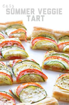Easy Summer Veggie Tart Recipe