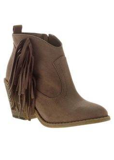 Fringe booties under $20 fall 2016