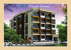 KPR Kranthi Enclave which is Located in AkshayaNagar Bangalore.KPR Kranthi Enclave offers 2 BHK Residential Apartment with modern amenities. KPR Kranthi Enclave offers different sizes of sq-ft areas.