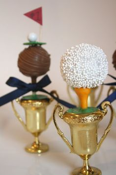 Father's day cake pops!