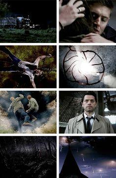 [gifset] Seasons ending in pain. All of them. #SPN